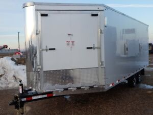 2017 Southland XRARSMT60-826-78 Enclosed Snowmobile Trailer