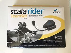 scala rider team set for motorcycle helmets