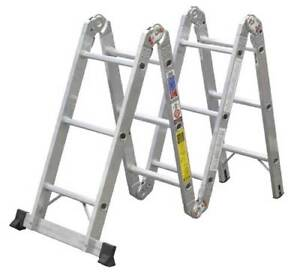 Ladders-extension, multi purpose, step ladders