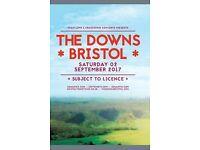 The Downs Festival 2017, Bristol. Saturday 02 Sep 2017