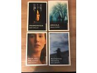 Oneworld Classics set of four books - Frankenstein, Dracula, Pride and Prejudice, Wuthering Heights