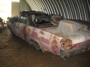 1963 Pontiac Parisienne Convertible Parts car