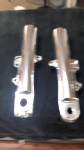 Harley Davidson Touring lower legs