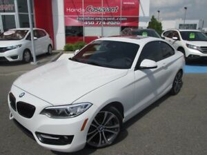2014 BMW 2 Series TOIT OUVRANT + CUIR + BLUETOOTH ++++