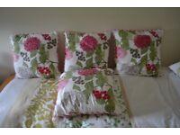 Furniture Cushions ( Bought at Next ) 4 square plus 2 rectangular