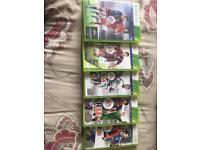 5 XBOX360 games