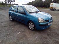2002 Renault clio 1.4 5 door