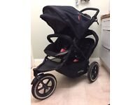 Phil&Ted double buggy. Used but good condition.