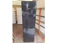 Black Hotpoint Fridge Freezer (6 Month Warranty)
