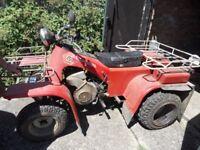 small tractor / quad