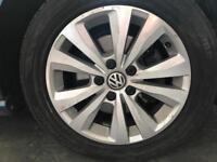 Volkswagen Golf mk7 alloy wheels with tyres