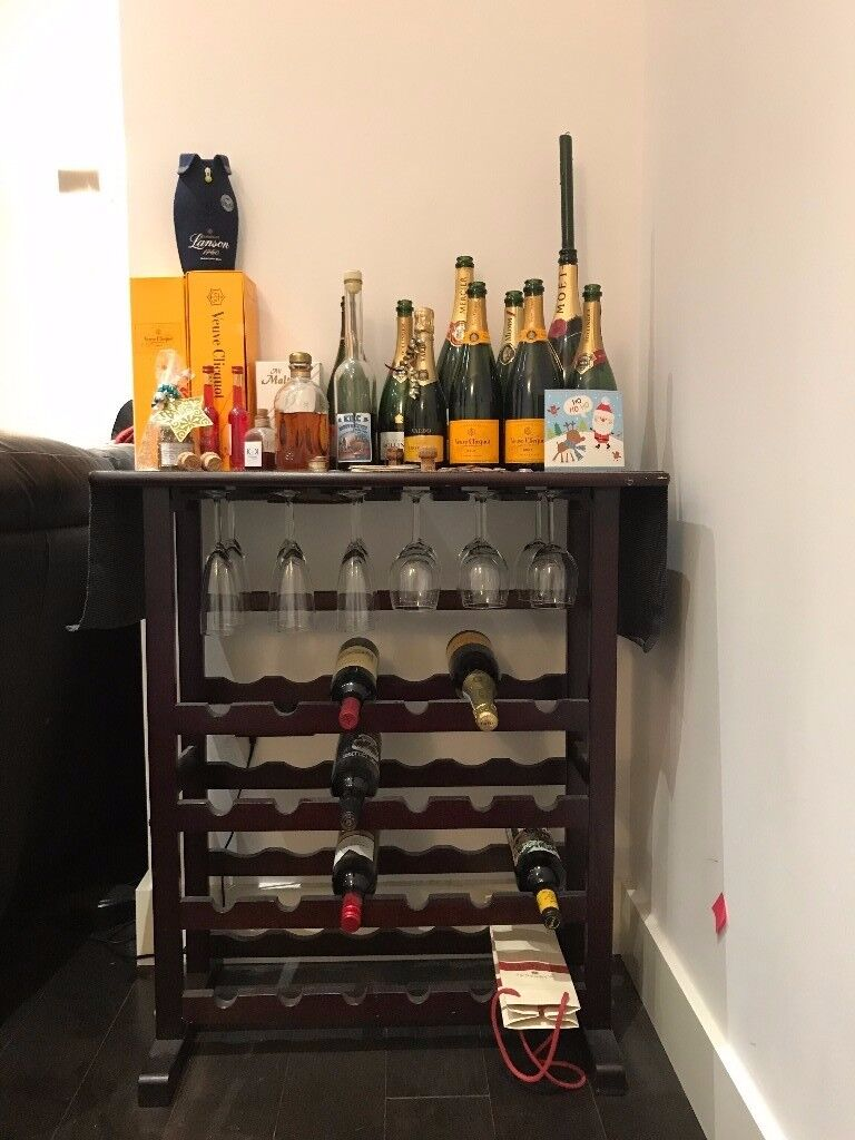 Wine Rack (with glass holder) (PRICE DROP!!!)