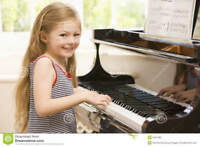 Piano Lessons and Music Theory Instruction