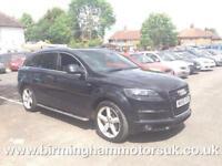 2006 (56 Reg) Audi Q7 3.0 TDI S LINE AUTOMATIC 5DR SUV BLACK + 7 SEATS