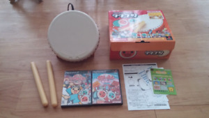PS2 Taiko Drum Master Package