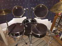 Pearl Rhythm Traveler RTX705HCC, Jet Black