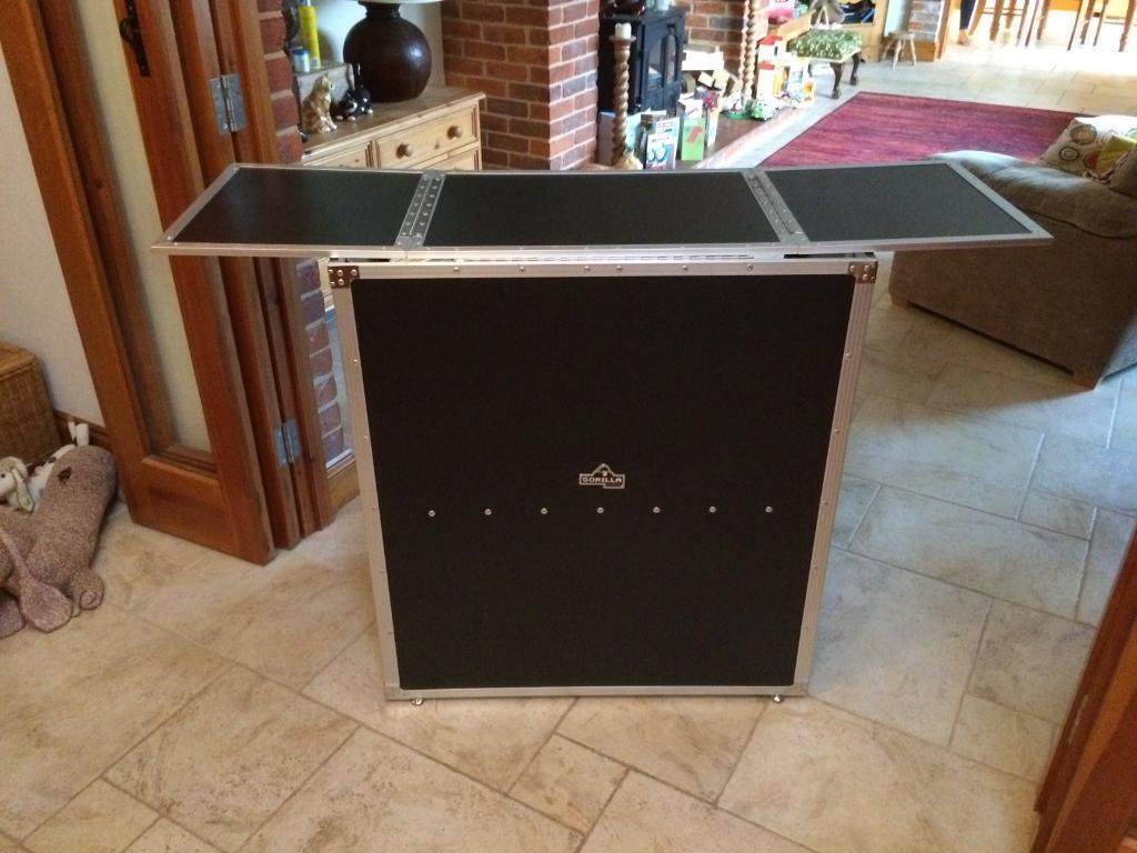 Dj Folding Table Deck Stand Booth