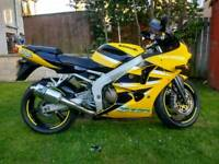 Zx6r mot june 2018 very low miles