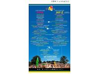 2 V FESTIVAL WEEKEND TICKETS no camping HYLANDS PARK CHELMSFORD