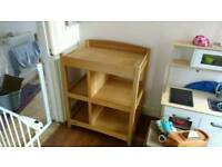 Mamas & Papas Baby Changing Table - Solid Wood Frame