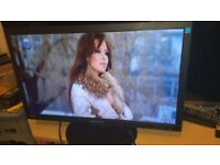 "24"" Monitor HANNS-G HS241HPBWIDE IPS LED 1920 X 1080 VGA DVI HDMI Black w/Speakers"