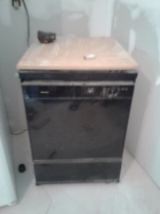 Fridge and dishwasher