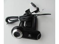 Logitech QuickCam Pro 9000 USB webcam, with Carl Zeiss optics