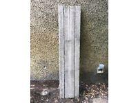 4 x reinforced concrete lintels, 1800 mm long