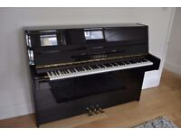 Black Yamaha Piano & Stool - Excellent Condition (offers considered)