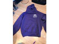 Purple Snuggly Hoodie Size M