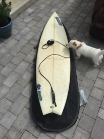 Surf board, 6'8