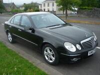 Mercedes E Class E 220 CDI AVANTGARDE **High Spec Model** (black) 2007