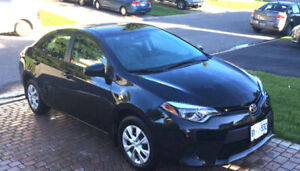 2016 Toyota Corolla CE Lease Takeover