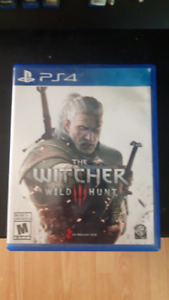 The Witcher 3: Wild Hunt ($20 or Trade)