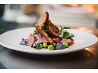 Toasted Restaurant is seeking a Sous Chef