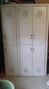 Solid wood lockers