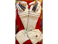 Gray-Nicolls Youth Cricket Pads and Whites