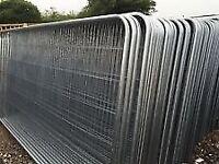 Heras fencing round top heavy duty panels & accessories