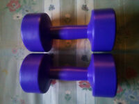 Body Sculpture Dumbbell Weight Training Gym Fitness Exercise Workout 2x2KG