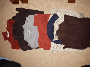Mens fall clothes med large