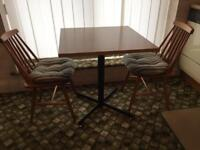 Dining table with 2 chairs-£30 delivered