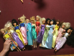 Barbie dolls and play sets