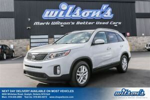 2015 Kia Sorento LX V6 HEATED SEATS! PUSH BUTTON START! BLUETOOT