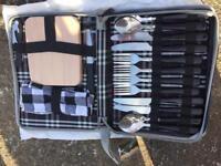 Travel cutlery & cheese board set
