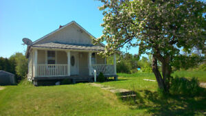 Detached home on large lot, walk to town in Blind River