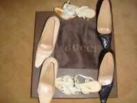 Ladies Gucci Court Shoes & Dior Sandals plus Louis Vuitton BOX ONLY........