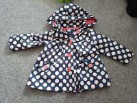 Gorgeous Junior j coat 18 - 24 mnths