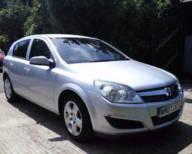 VAUXHALL ASTRA 1.6 BREEZE 07 PLATE SPECIAL EDITION