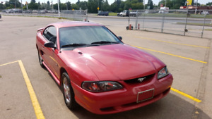 Clean 1998 Ford Mustang SRS