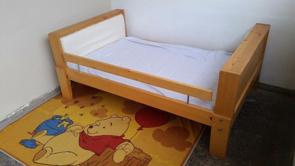 Ikea Vikare Extendable Bed With Guard Rail In Sandwell